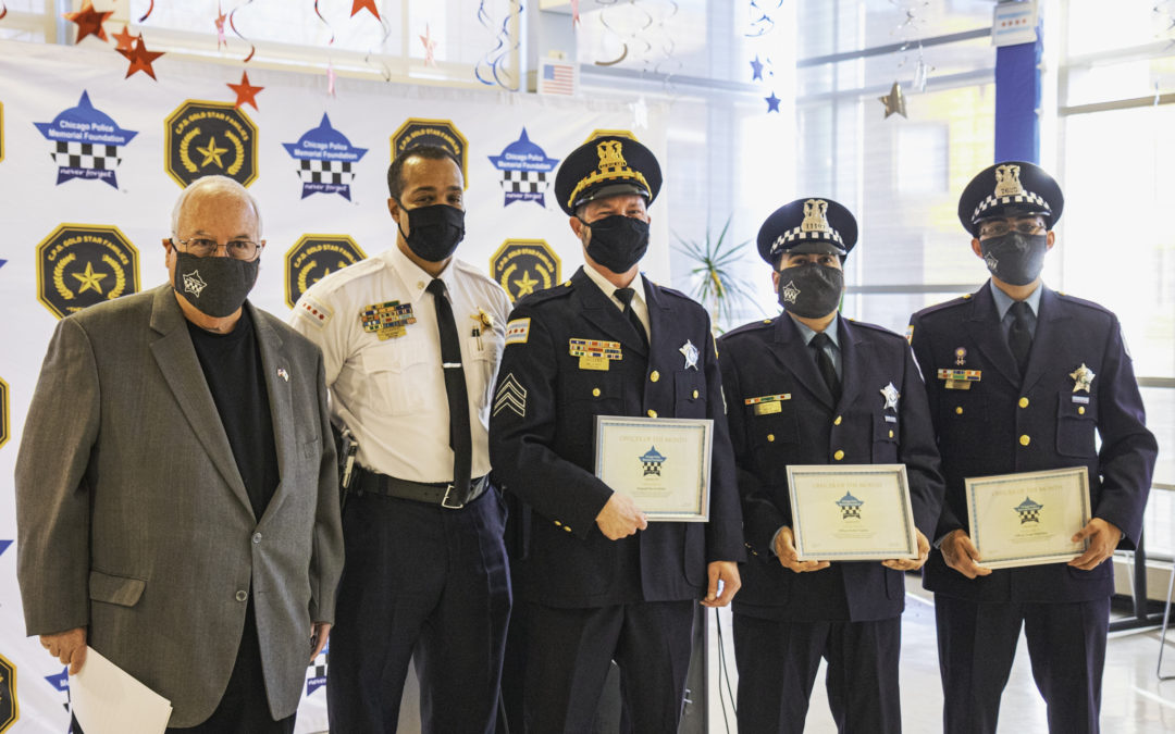 The Chicago Police Memorial Foundation will honor 5 Chicago Police officers for their work in removing a violent gang member off the streets of Chicago